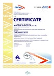 Certificate ISO 50001